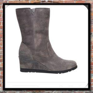 488b6e8e1a3 UGG Joely Waterproof Wedge Boots NWT